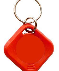 Badge porte / entree d'immeuble refait en rouge