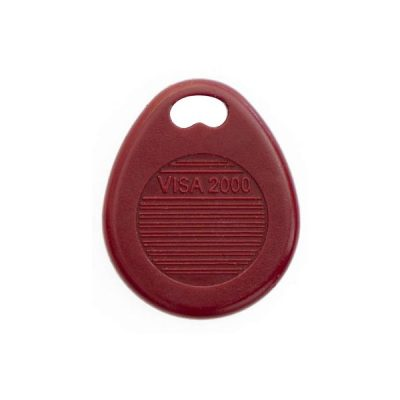 Badge Residence VISA 2000 Rouge