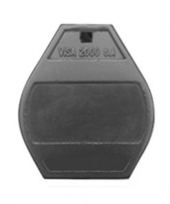 Badge porte VISA2000 noir
