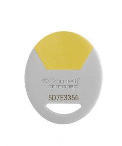 badge vigik jaune de marque immotec