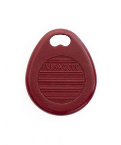 Badge Residence VISA 2000 Rouge