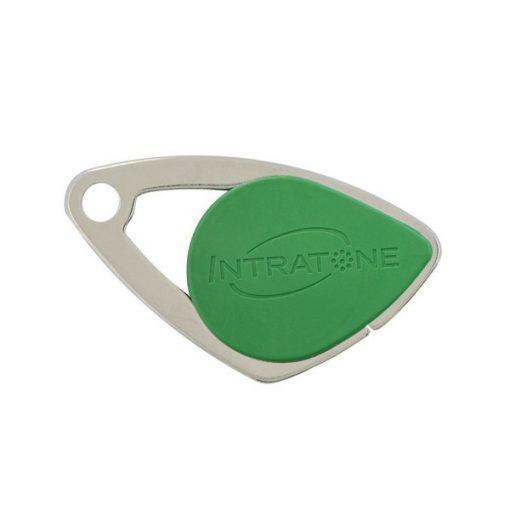 badge intratone vert